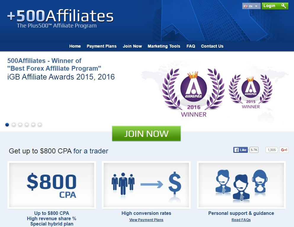 Best forex affiliate programs